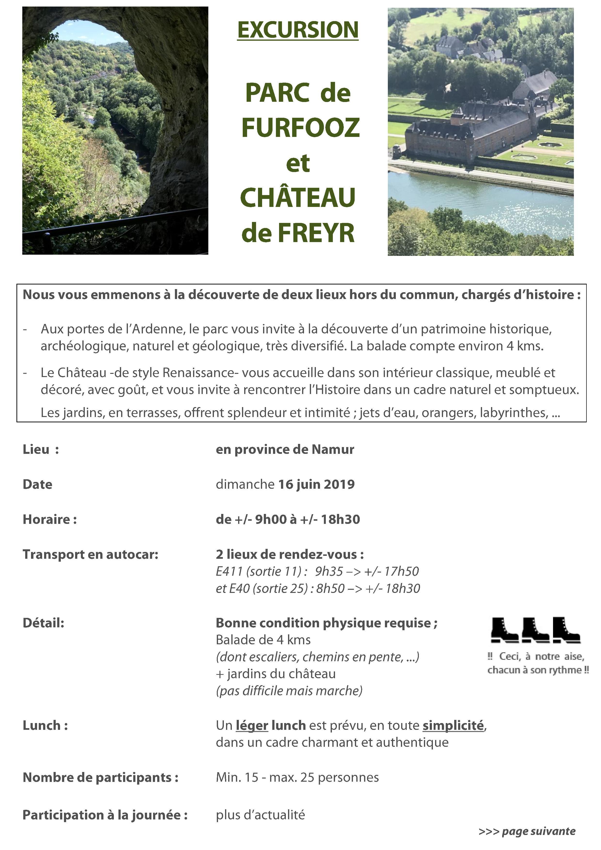 Parc de Furfooz et Château de Freyr
